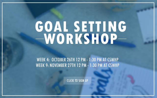 Goal Setting Workshop Fall