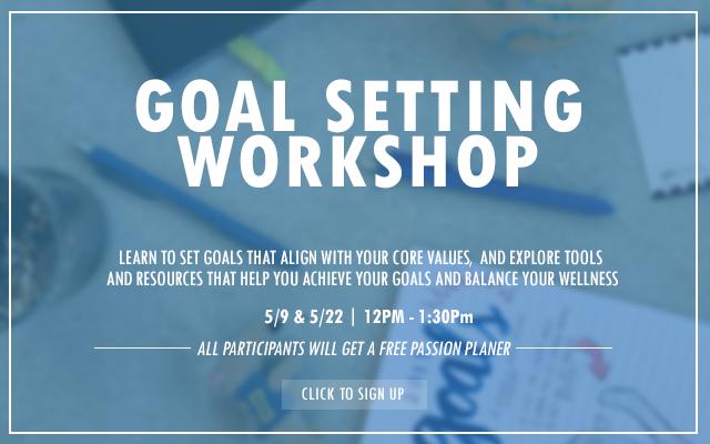 Goal setting workshop 2018 May