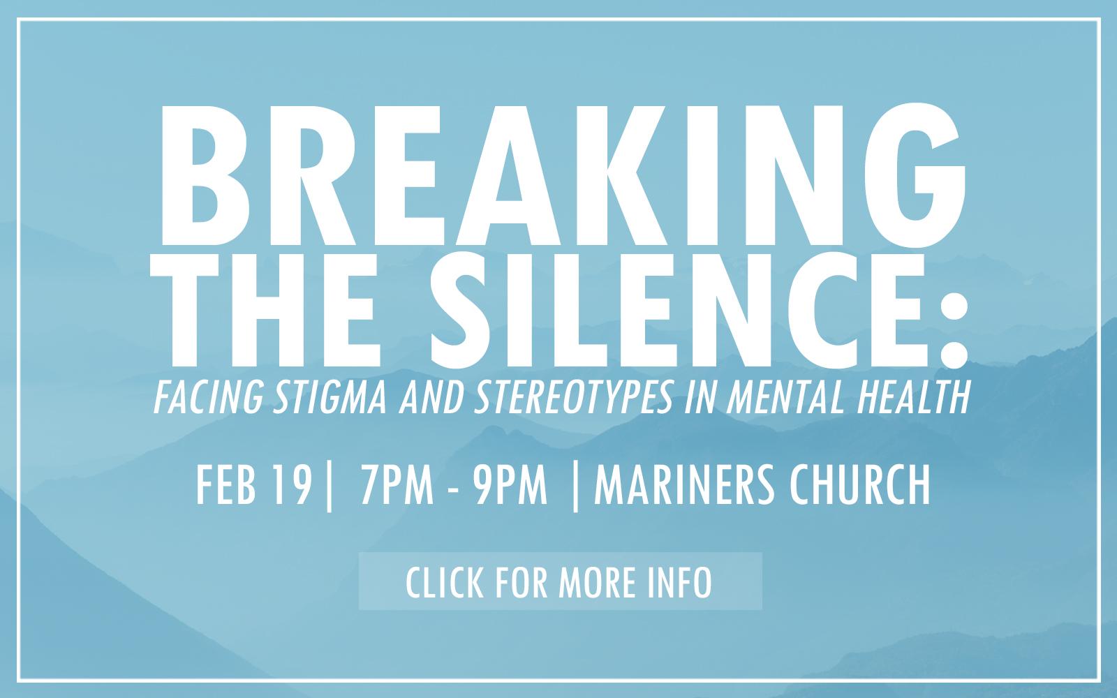 Breaking the Silence Website Slider